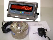 Compression Scale 100,000 LBX 5 LB,LPD Load cell 100k/ stainless steel Indicator