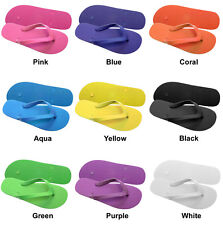 90 New Rubber Children's Flip Flops Wholesale Lot Many Colors