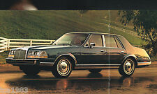 1986 LINCOLN Brochure / Catalog: CONTINENTAL,MARK VII, 7,TOWN CAR, '86