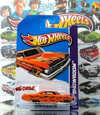Hot Wheels 2013 #218 Custom '64 Galaxie 500 METAFLAKE ORANGE,GOLD PR5,COOL FLAME