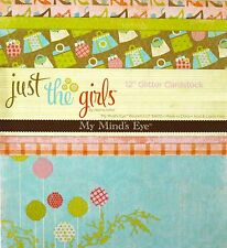 My Minds Eye JUST THE GIRLS - 18 Sheet SAMPLE TASTER Pack 12x12 Scrapbook Paper