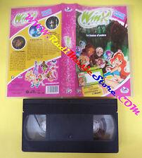 VHS film WINX La fenice d'ombra 2005 animazione MONDO 00545 (F25) no dvd