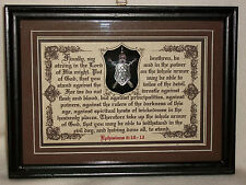 The Whole Armor of God - Bible,Verses,Scripture,Plaques,Christian,Framed Gifts-1