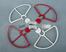 2RED&2WHITE SNAP ON/OFF PROP GUARDS QUICK RELEASE DJI PHANTOM 1 2 3 Standard PRO