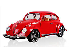 Volkswagen Beetle Superior 1967 1:18 Red Diecast Car Model Toy Christmas Gift