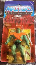 FAKER 8 BACK MOC HE-MAN MASTERS OF THE UNIVERSE MOTU VINTAGE FILMATION