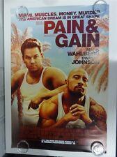 Pain & Gain Wahlberg Johnson Action Original Filmposter Eins Blatt 69x102cm