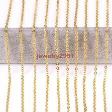 """18""""-36"""" Wholesale in Bulk Hot Sell Stainless Steel Strong Oval Necklace 2-3mm"""