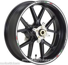 KTM DUKE 125 - Adesivi Cerchi – Kit ruote modello Sport tricolore