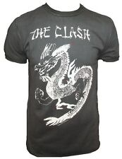 AMPLIFIED THE CLASH Tattoo China Tour Dragon Punk Rock Star Vintage T-Shirt g.XL