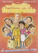 """COFFRET 2 DVD """"UNE FAMILLE FORMIDABLE - EPISODES 14 A 17""""   NEUF SANS BLISTER"""