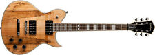 Washburn WIDLXSPLTD Spalted Maple Electric Guitar Idol Series Mahogany Body