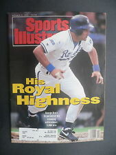 Sports Illustrated October 5, 1992 George Brett Royals MLB NCAA Ward Oct '92 D