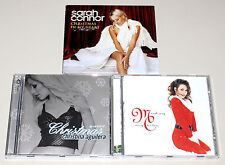 3 CD SAMMLUNG SARAH CONNOR CHRISTMAS IN MY HEART CHRISTINA AGUILERA MARIAH CAREY