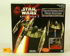 Star Wars EP1 Trade Federation Droid Fighters mib