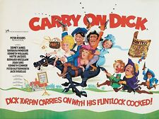 "Carry on Dick 1974 16"" x 12"" Reproduction Movie Poster Photograph"