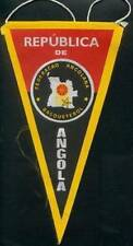 ANGOLA BASKETBALL FEDERATION MEDIUM PENNANT 14x26cm