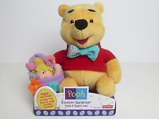 Winnie The Pooh And Piglet Easter Surprise Plush By Fisher Price