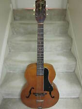 S.S. Stewart archtop acoustic guitar-vintage ,natural,plays & sounds great
