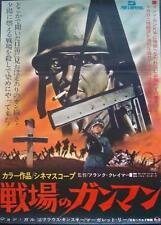 FIVE FOR HELL 5 PER L'INFERNO Japanese B2 Movie Poster KLAUS KINSKI WW2