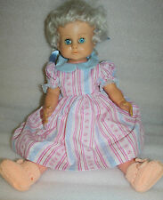 VINTAGE DOLL MADE IN ENGLAND 60 CM DOLL 2 ft. tall stamp on neck England