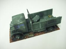 wargames vehicle WW2 CMP truck burned out wreck. 1/56 for 28mm
