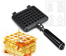 New Breakfast Belgian Waffle Maker with Stay-cool handle- Gas Oven Used