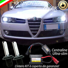 KIT XENON XENO H7 6000K 35W SPECIFICO ALFA ROMEO 159 NO ERROR CON  GARANZIA