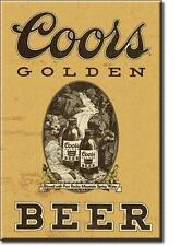 Coors Golden BIRRA VINTAGE DESIGN USA bar Pubblicità MAGNETICO MAGNETE SCUDO