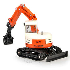 KAIDIWEI 1/50 Scale Diecast Tracked Grasping Cart Construction Equipment Toys