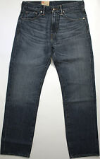 Levi's 505 Straight Fit jeans-30 x32-NEW-HOOKED blue denim-blue levis-501-$78-