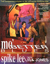 Spike Lee Director Oscar Nominee Mo' Better Blues Signed Autograph Book COA