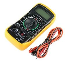 New Digital Multimeter XL830L Volt Meter Ammeter Ohmmeter Yellow Tester AO