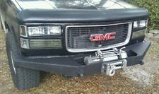 Chevy GMC Truck 1500 Front Winch Bumper 1500 2500 1988-98' With Tow Points Black