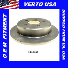 Verto USA Premium Disc Brake Rotor-Rear  fit Ford , Mercury  54032X1