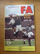 1955/1956 Football Association: Official Year Book (name noted on front cover).