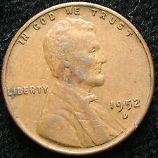 1952 D  USA   1 cent