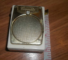 Very RARE Vintage Corvette Unitron 6 Transistors Radio Made in Japan 1 of a kind
