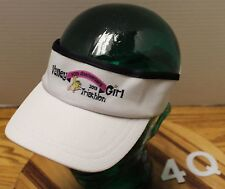 HEADSWEATS 2013 VALLEY GIRL TRIATHLON ATHLETIC VISOR 100% COOLMAX POLYESTER VGC