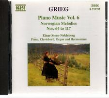 Grieg: Piano Music, Vol. 6 Norwegian Melodies Nos. 64 to 117