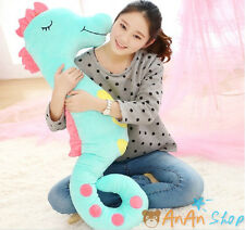 Free Shipping 1.1m Plush Girlfriend Sleep Sea Horse Soft Toy Animal Hold Pillow