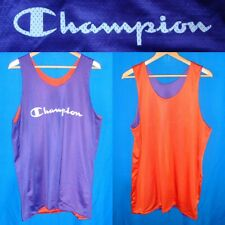 CHAMPION VINTAGE BASKETBALL TRAINING DOUBLE FACE REVERSIBLE JERSEY CANOTTA
