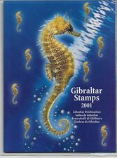 Gibraltar Year Pack YearPack 2001 Mint Never Hinged MNH Sealed