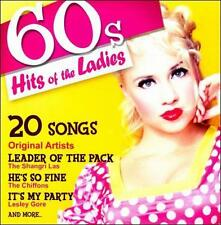 60s Hits of the Ladies by Various Artists (CD, Jan-2010, TGG Direct)