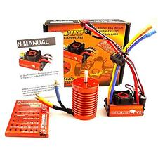 SKYRC LEOPARD 60A ESC 9T 4370KV Brushless Motor w/Program card for 1/10 RC Car