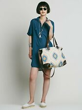 NEW ANTHROPOLOGIE FREE PEOPLE CABANA CARPET TOTE BAG TRIBAL