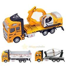 Pull Back Construction Car Toy for Children Xmas Gift