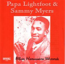 PAPA LIGHTFOOT & SAMMY MYERS - Blues Harmonica Wizards