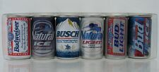 Budweiser Brands 6 pack  Minature Can Set - made in Italy