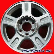 "FORD F150 TRUCK EXPEDITION 17X7.5"" MACHINED SILVER FACTORY WHEEL RIM 3516 A"